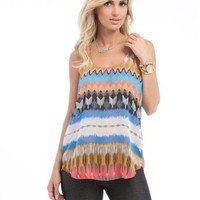 G2 Chic Women's Electric Native Top