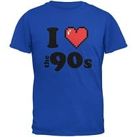 I Heart The 90s Royal Adult T-Shirt