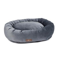 Donut Dog Bed — Titanium