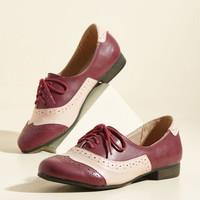 Lead the Play Flat | Mod Retro Vintage Flats | ModCloth.com
