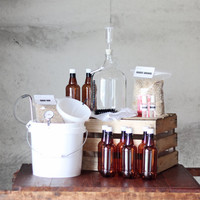 1 Gallon BREWERY IN A BOX with 2 Recipe Kits Brew by UrbanBrewery