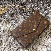 LV Women Shopping Leather Handbag Tote Satchel Shoulder Bag Three-Piece G-AGG-CZDL