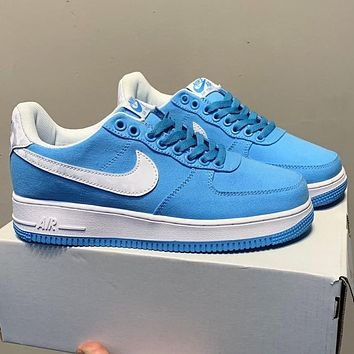 Nike Air Force 1 Low new men's and women's color matching casual sneakers