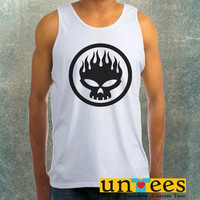 The Offspring Skull Symbol Clothing Tank Top For Mens