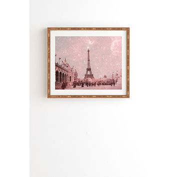 Bianca Green Stardust Covering Vintage Paris Framed Wall Art