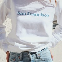 San Francisco Oversized Sweatshirt
