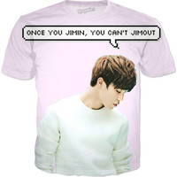 Park Jimin Quote T-shirt