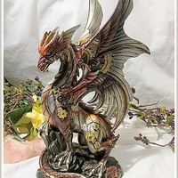 "Steampunk ""Power of the Dragon"" Statue"
