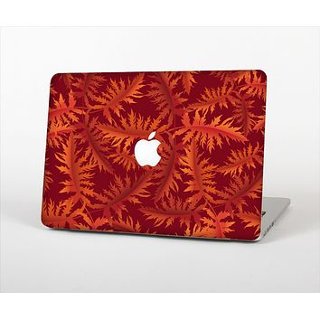 """The Vector Fall Red Branches Skin Set for the Apple MacBook Pro 13"""" with Retina Display"""
