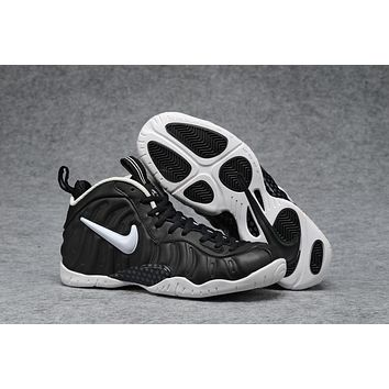 Air Foamposite Pro Black/white Basketball Shoe Size 40 47