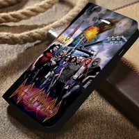 Def Leppard 2 Custom Wallet iPhone 4/4s 5 5s 5c 6 6plus 7 and Samsung Galaxy s3 s4 s5 s6 s7 case
