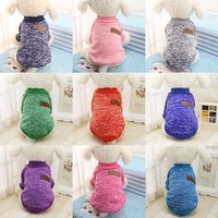 Classic Casual Sweater Dog Clothes & Cat Clothes