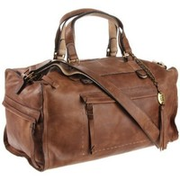 Olivia Harris Stitch Convertible Satchel - designer shoes, handbags, jewelry, watches, and fashion accessories | endless.com