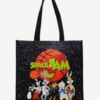Licensed cool Looney Tunes Space Jam Logo Reusable Grocery Shopping ECO Tote Bag Licensed WB