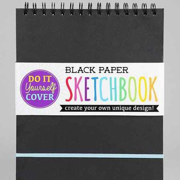Black Paper Sketch Pad- Assorted One
