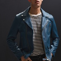 Mackage Fenton Leather Moto Jacket | Urban Outfitters