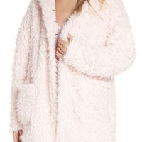 Splendid Teddy Sleep Hooded Pajama Jacket | Nordstrom