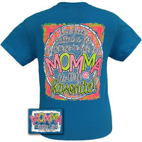Girlie Girl Originals Funny I've Been Called A lot of Things Momma is my Favorite Mom Bright T Shirt