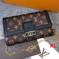 Louis Vuitton LV Fashion Women Leather Crossbody Shoulder Bag Satchel