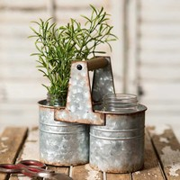 Can Caddy with Two Jars