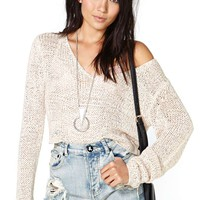 Nasty Gal Valerie Crop Knit