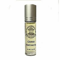 Gypsy Perfume Oil Roll On For Wisdom Intuition Awareness Increased Perception Divination Personal Transformation Wiccan Pagan & Conjure