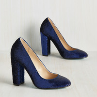 Sequin and Ye Shall Find Heel | Mod Retro Vintage Heels | ModCloth.com