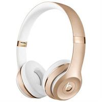 Beats by Dr. Dre Solo3 Wireless On-Ear Headphones - Gold - Stereo - Gold -...