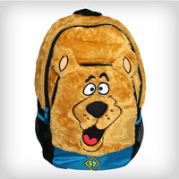 Scooby Doo Diecut Furry Face Backpack