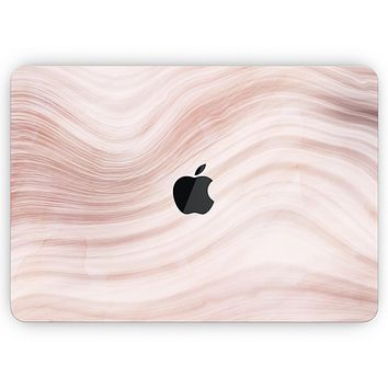 """Vivid Agate Vein Slice Foiled V5 - Skin Decal Wrap Kit Compatible with the Apple MacBook Pro, Pro with Touch Bar or Air (11"""", 12"""", 13"""", 15"""" & 16"""" - All Versions Available)"""
