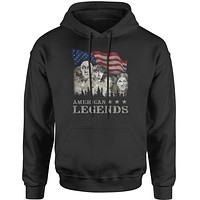 Mount RushMorons 3 Stooges Adult Hoodie Sweatshirt