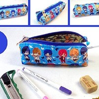 Free! Iwatobi Swim Club Makoto Tachibana Cosplay Pencil Case Pen Bag Cosmetic