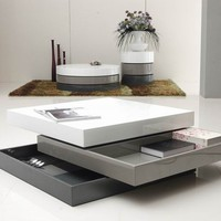 Modern Multi Toned Coffee Table
