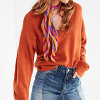 UO Caroline Cozy Batwing Sweater | Urban Outfitters
