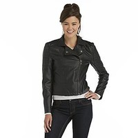 Dream Out Loud by Selena Gomez Junior's Faux Leather Moto Jacket
