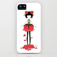 Rose iPhone & iPod Case by Freeminds