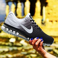 Nike Air Max New Fashion Men Sport Casual Gradient Color Air Cushion Sneakers Running Shoes