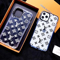 Louis Vuitton LV Classic Hot Sale Couples Transparent Phone Cover Case For iphone 7 7plus iPhone X XR XS XS MAX IPhone 11 11pro 11Pro Max