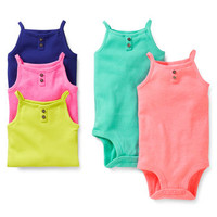 5-Pack Tank-Style Bodysuits