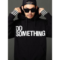 Mens Something Jersey Hoodie at Fabrixquare