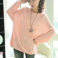 Loose Bat Sleeve Hollow Sweater from chiccasesandhomeproducts