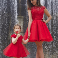 Sexy Red Short Lace Cocktail Dress 2016 Backless Tulle robe de Cocktail Party Formal Dress 2016 cocktail jurken