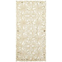 Carved Wall Panel - Ivory