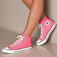 """""""Converse"""" Fashion Canvas Flats Sneakers Sport Shoes Hight tops Pink"""