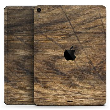 "Raw Wood Planks V3 - Full Body Skin Decal for the Apple iPad Pro 12.9"", 11"", 10.5"", 9.7"", Air or Mini (All Models Available)"