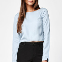 Kendall and Kylie Tencel Open Back Top at PacSun.com