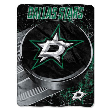 Dallas Stars NHL Micro Raschel Blanket (46in x 60in)