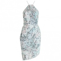 Fortune Marble Drape Dress - The Latest