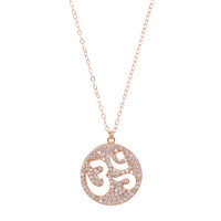Large Ohm Disk Necklace