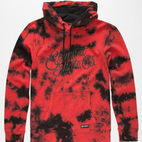 Element Manic Mens Hoodie Red  In Sizes